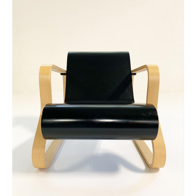 "Late 20th Century Alvar Aalto Armchair 41 ""Paimio"" Lounge Chair For Sale - Image 5 of 11"