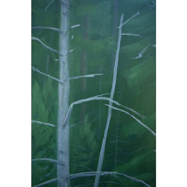 """""""Awestruck"""", Contemporary Large (60"""" X 48"""") Painting by Stephen Remick For Sale - Image 10 of 13"""