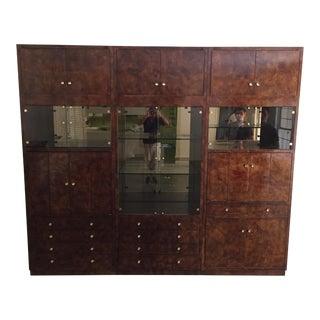 1960s Vintage Henredon Entertainment Cabinet - 3 Pieces
