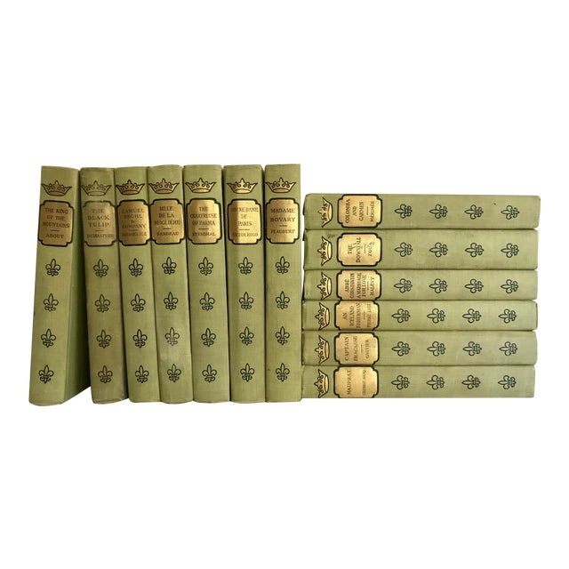 1902 French Romance Set of 13 Classic Books For Sale