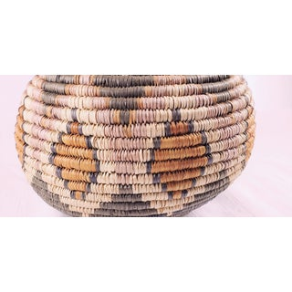 Vintage South African Zulu Lidded Basket Preview