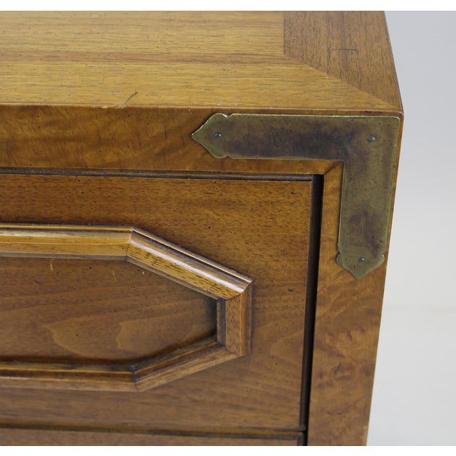 Thomasville Mid-Century Walnut Chest of Drawers For Sale - Image 4 of 8