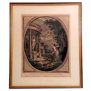 18th Century Mezzotint For Sale