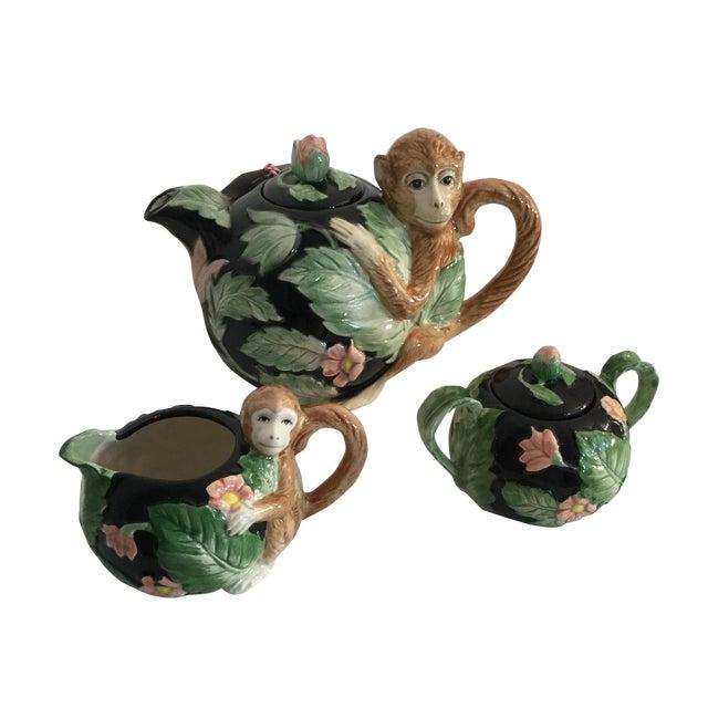 Vintage 1990 Fitz and Floyd Tea Set - Image 1 of 5
