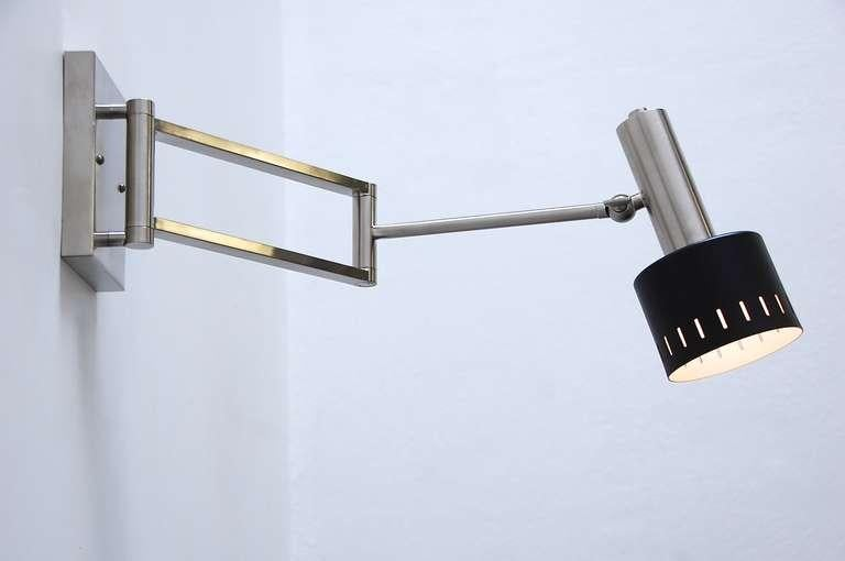 Articulated Wall Sconce from Germany - Image 3 of 9  sc 1 st  DECASO & Superb Articulated Wall Sconce from Germany | DECASO