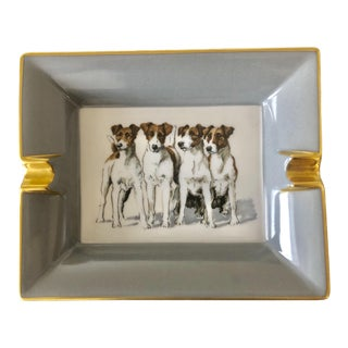 Hermes Jack Russell Ashtray For Sale