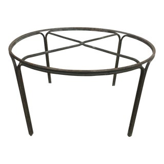 Kipp Stewart for Terra Furniture Bronze Age Tubular Dining Table