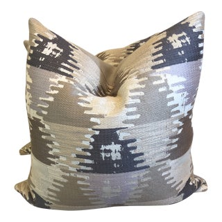 "Neutral Ikat 22"" Pillows-A Pair"