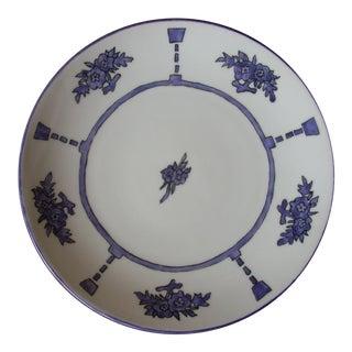 Antique Austrian Serving Plate For Sale