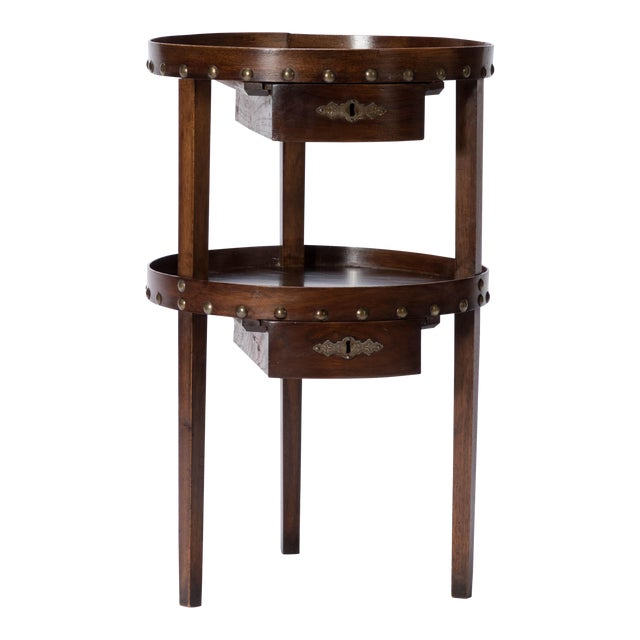 19th C. French Walnut Table - Image 1 of 6