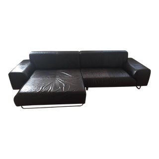 Calia Italia Modern Leather Sectional