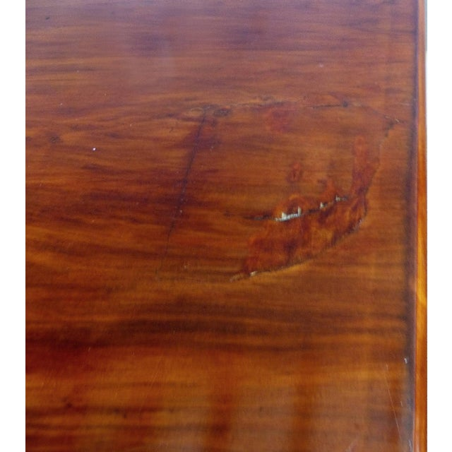 Giuseppe Scapinelli De Rosa Wood Dining Table and Chairs Circa 1960 For Sale - Image 10 of 11