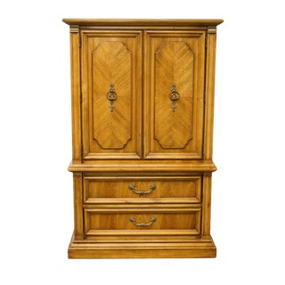 20th Century Italian Stanley Furniture Door Chest/Armoire For Sale