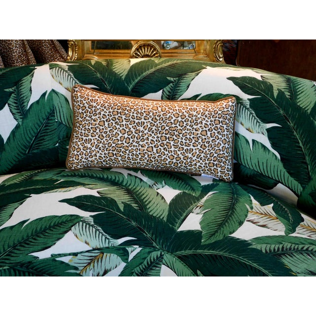 2020s Cheetah Print Lumbar Pillow For Sale - Image 5 of 7
