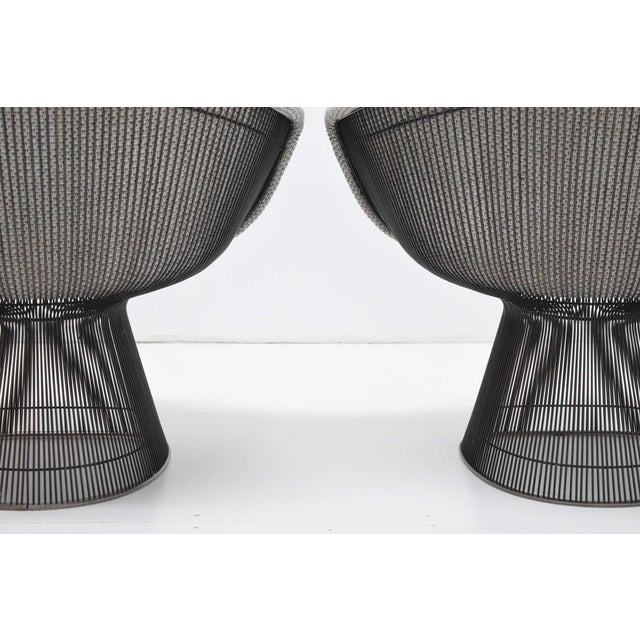 Pair of 1960s Bronze Warren Platner Lounge Chairs For Sale - Image 10 of 12