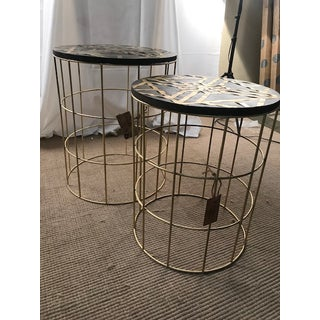 Boho Chic Global Archive Collection Nesting Side Tables - 2 Pieces Preview
