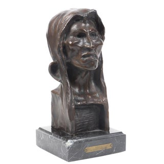 "Bronze Limited Edition ""The Savage"" #25 of 100 After Frederick Remington's 1908 For Sale"