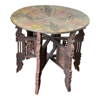 Moroccan Style Tray Table For Sale