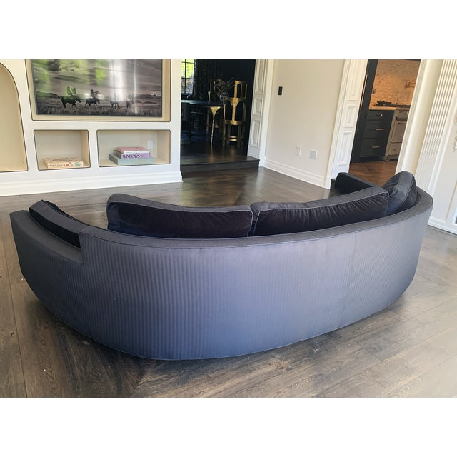 1960s 1960s Harvey Probber Crescent Curved Sofa For Sale - Image 5 of 6