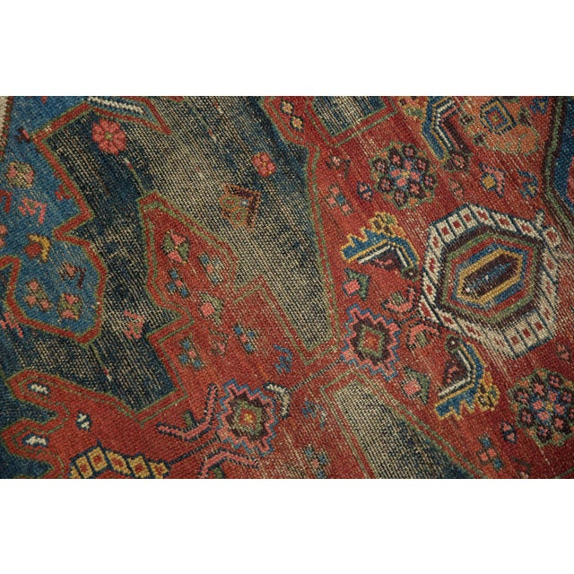 "Antique Hamadan Rug - 4'9"" X 7'11"" - Image 11 of 13"