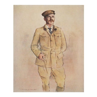 1901 Mortimer Menpes, Portrait of Burdett Coutts For Sale