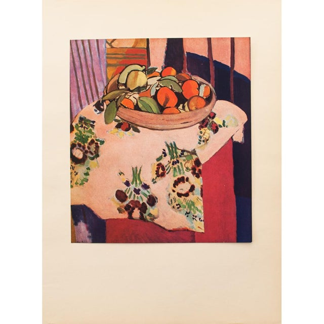 "1940s Henri Matisse, ""Oranges"" Original Period Swiss Lithograph For Sale In Dallas - Image 6 of 8"