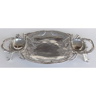 Arthur Court Crab & Lobster Serving Tray W/ Crab Plates - Set of 5 Preview