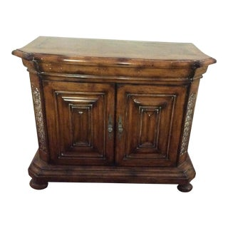 Baker Distressed Wood Traditional Server