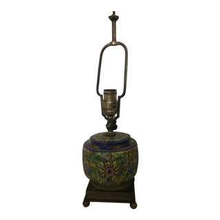 Chinoiserie Asian Table Lamp For Sale