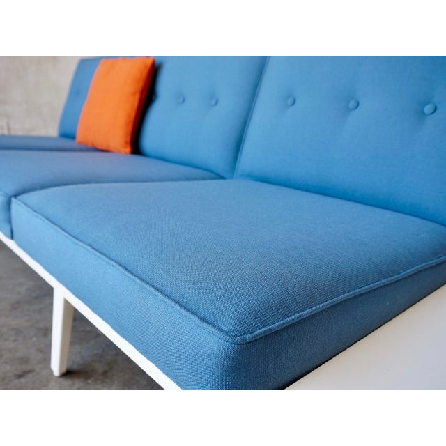 Blue George Nelson Modular Sofa For Sale - Image 8 of 9