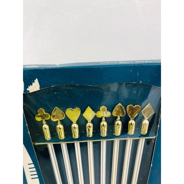 Mid-Century Modern Vintage Set Game Scoring Pencils - Set of 8 For Sale - Image 3 of 6