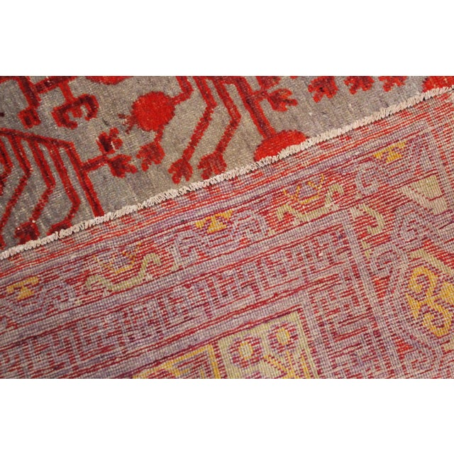 """Antique Khutan Rug-8'x15'5"""" For Sale In Los Angeles - Image 6 of 7"""