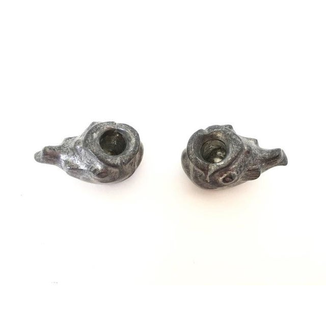 Just Andersen Miniature Fish Candle Holders - A Pair For Sale In Washington DC - Image 6 of 10