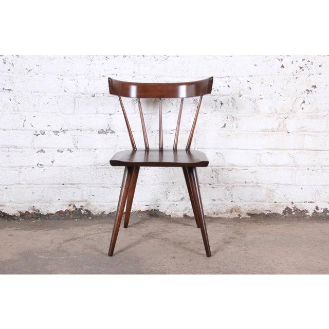 Wood Paul McCobb Newly Refinished Planner Group Dining Chairs - Set of 6 For Sale - Image 7 of 13