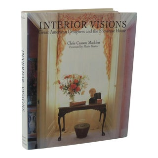 Interior Visions Decorative Hard-Cover Vintage Book For Sale
