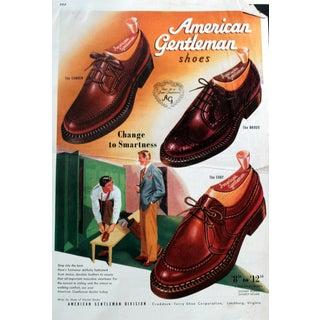 American Gentleman Shoes - Illustration For Sale
