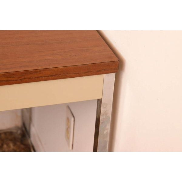 Mid Century Metal and Laminate Desk - Image 2 of 4