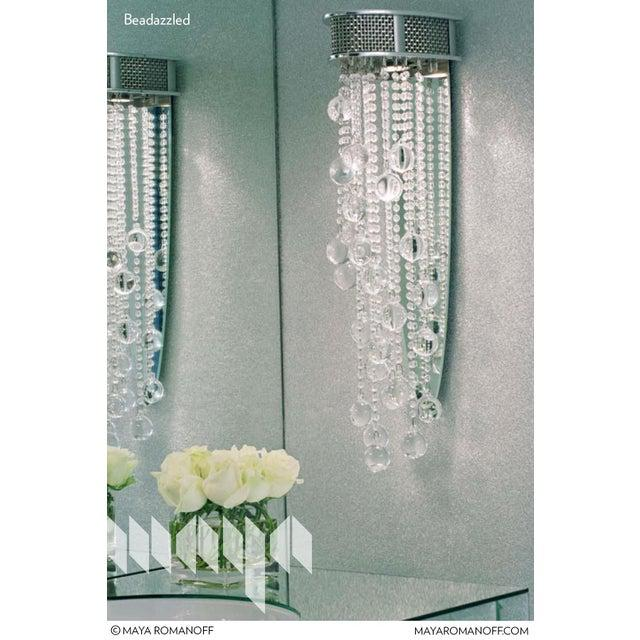 Sample, Maya Romanoff Beadazzled - Glass Beads Wallcovering For Sale In Chicago - Image 6 of 9
