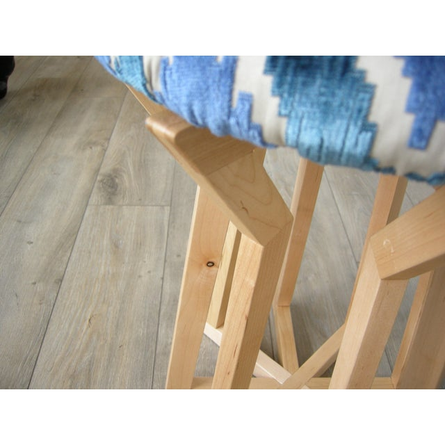 Mid-Century Modern Aster Stool by Hunt & Noyer For Sale - Image 3 of 4