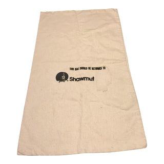 Vintage Canvas Shawmut Bank Cash Bag