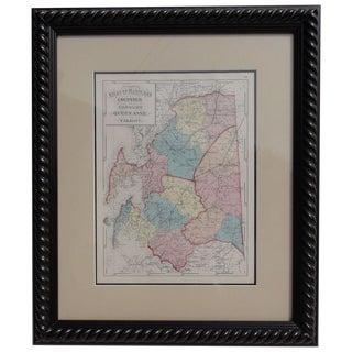 """Maryland: Talbot, Queen Anne & Caroline,"" Print For Sale"