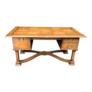 Superb Designer French Writing Table by Charles Pollock for William Switzer For Sale