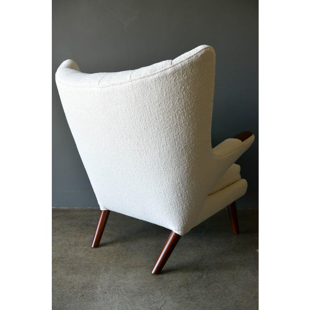 """1950s 1950s Hans Wegner Model Ap19 """"Papa Bear"""" Chair For Sale - Image 5 of 13"""