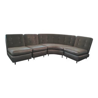 1950s Mid-Century Modern Refurbished High End Sectional