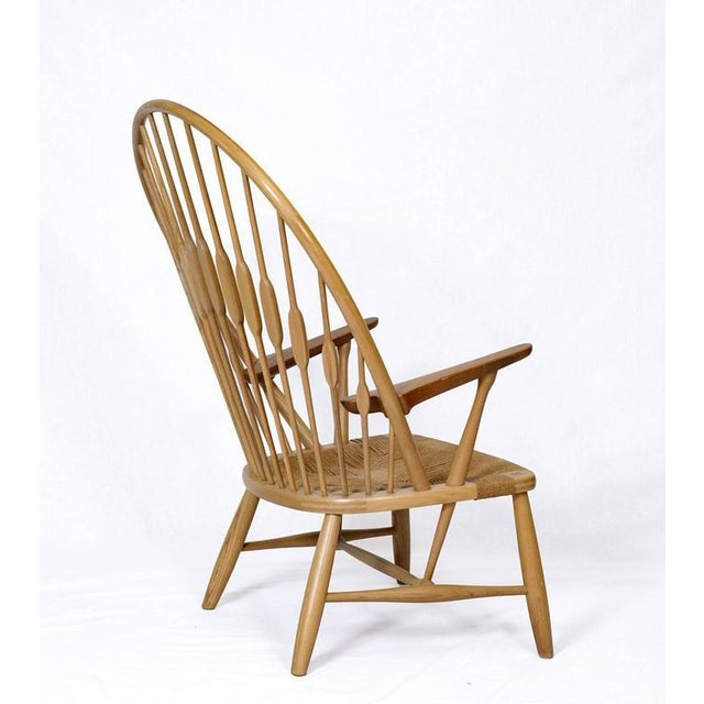 "1940s Hans Wegner ""Peacock"" Chair For Sale - Image 5 of 9"