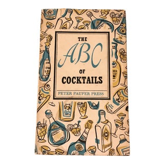 "1953 ""The Abc of Cocktails"" Cocktail Recipe Book"