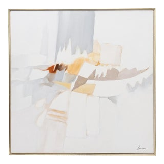 Abstract Oil on Canvas by Robert Lawson C.1970 For Sale