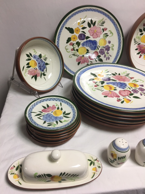 Stangl Fruit \u0026 Flowers Vintage Dinnerware - Image 4 ...  sc 1 st  Chairish & Stangl Fruit \u0026 Flowers Vintage Dinnerware | Chairish