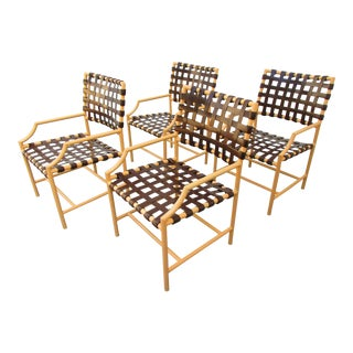 Tropitone Cantina Re-Manufactured Arm Chairs - Set of 4 For Sale