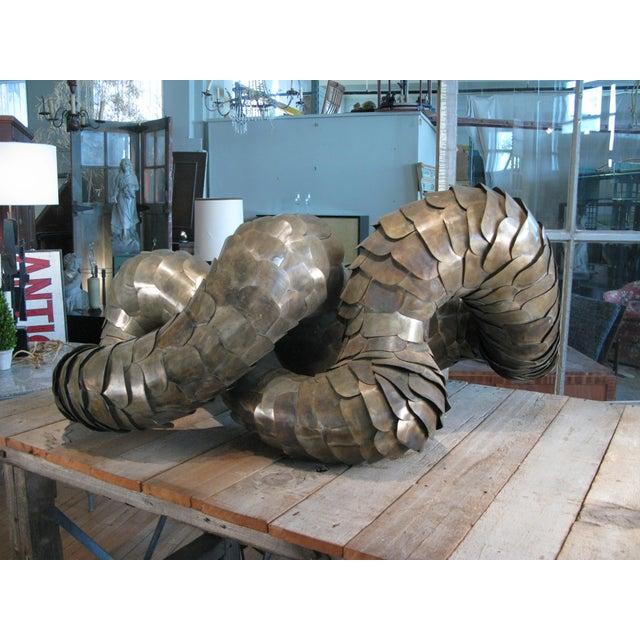 Ad Infinitum' Sculpture by Artist Joseph Kurhajec For Sale - Image 11 of 11